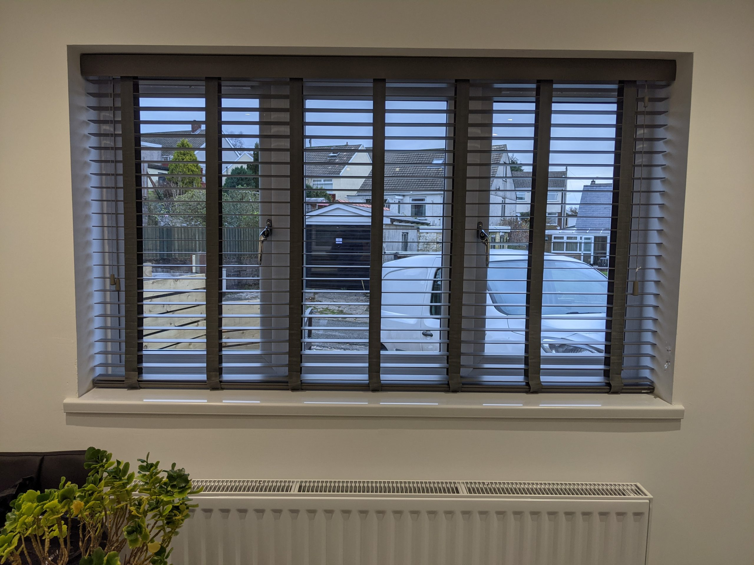 50MM Faux wood Venetian Blinds with tapes